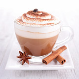 coffee or chocolate with cream - 58820038