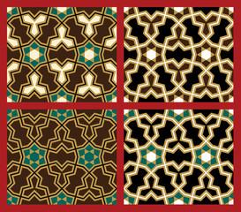 Karaj Seamless Pattern Set