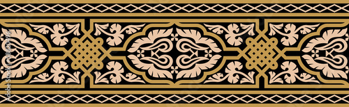 Moorish Fez Seamless Border Four