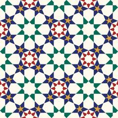 Moorish Fez Seamless Pattern Two