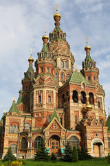The Peter and Paul Cathedral in Peterhof