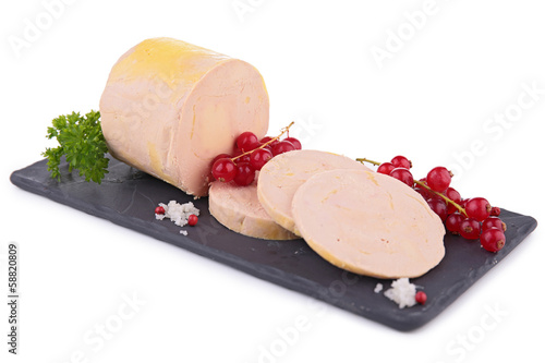 foie gras isolated