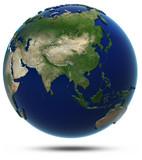 Asia world map