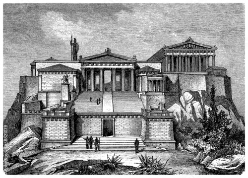 Ancient Greece : Acropolis (Reconstruction)