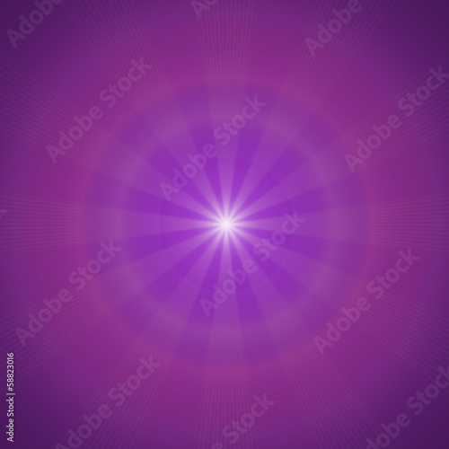 Purple sunny background