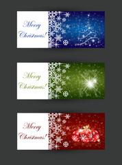 Christmas banner concepts