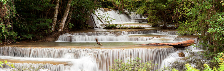 Panorama Tropial Waterfall