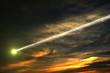 Fototapete Asteroid - Atmosphäre - Tag