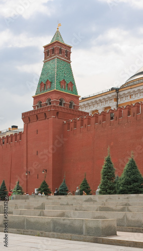 Moscow. Red Square.  Senate Tower