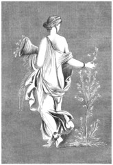 Ancient Rome : Flora (vegetation goddess)