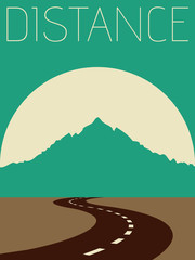 Vector Minimal Design - Distance