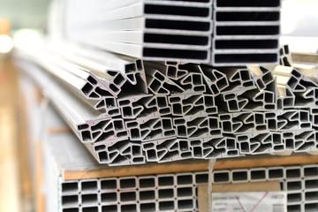 Aluprofile im Stahlbau