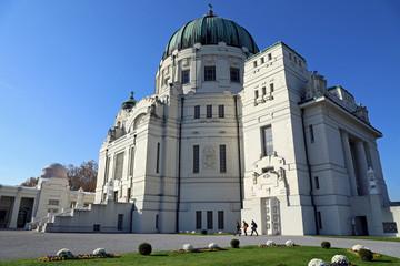 Jugendstil: Karl Borromäus-Kirche im Zentralfriedhof Wien