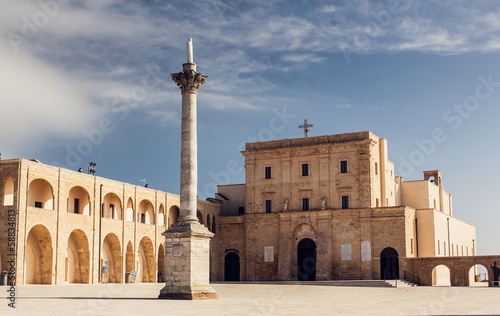 Sanctuary of Santa Maria di Leuca in Italy.