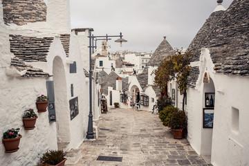 Trulli houses of Alberobello, Italy