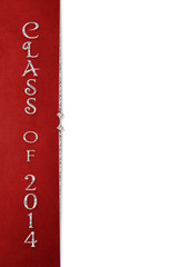 class of 2014 red border