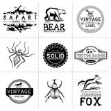 Vintage Animal Labels