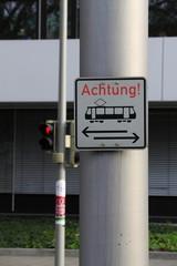 Vorsicht Tram