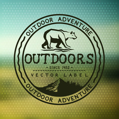 Outdoors Adventure Badge