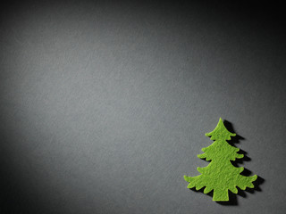Christmas tree paper cutting