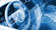 Leinwanddruck Bild - Steering wheel