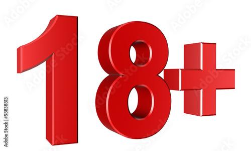 Abstract 3d 18 warning