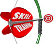 Skill Training Words Bow Arrow Target Learn Expertise