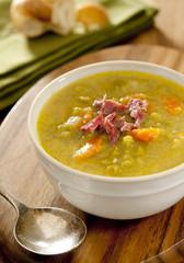 split pea and ham soup.