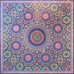marokkanisches Mosaikmuster