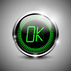 OK electronic symbol