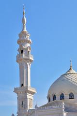 minaret of mosque in Tatarstan, Russia