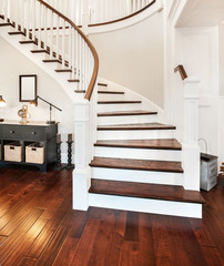 Beautiful Staircase in New Home