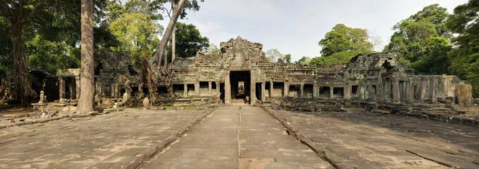 Preah Kahn Temple Entrance and Walkway, Angkor Wat