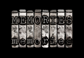 Memories or time concept