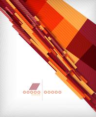 3d straight lines geometric shape background