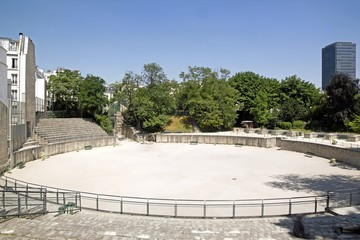 arènes de Lutèce (Paris France)