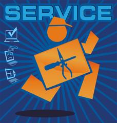 service emblem