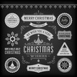 Christmas decoration vector design elements collection