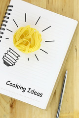 Creative cooking ideas recipe-book