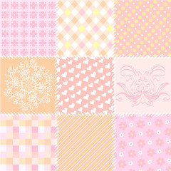 patchwork seamless texture