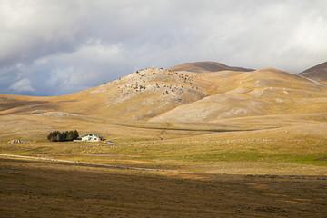 campo imperatore landscape
