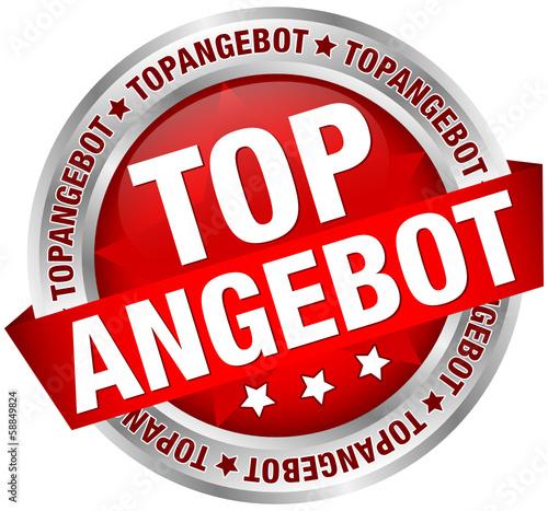 """Button Banner """"Topangebot"""" rot"""