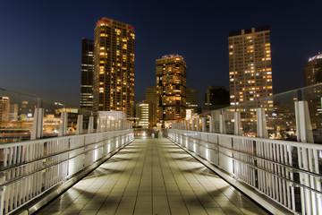横浜ポートサイドの夜景