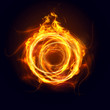 Abstract Ring of Fire