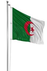 3D Algerian flag