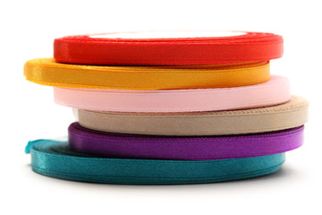 Reels of ribbon