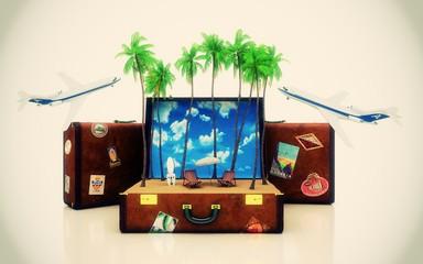 Viaggiare, valigie, agenzia viaggi, vacanze, travels