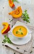 Creamy pumpkin soup o