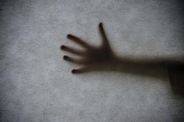 a hand shadow
