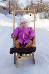 child winter